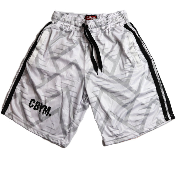 Retro sports club shorts black IIII