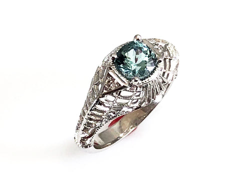 Emerald Cocktail Ring for Her