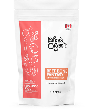 Beef Bone Fantasy - Fresh Dog Food - Kafka's Organic