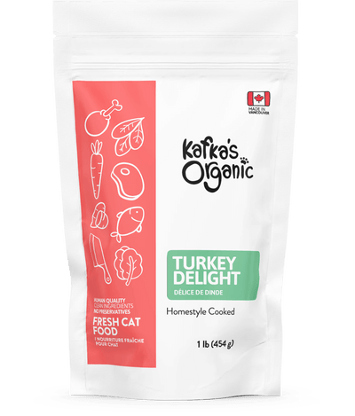Turkey Delight - Fresh Cat Food - Kafka's Organic