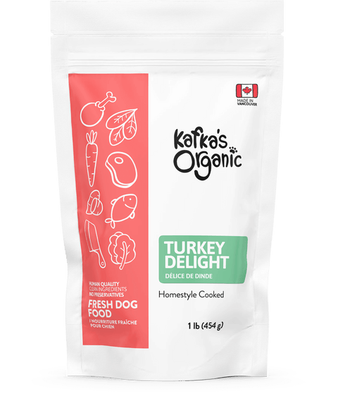 Turkey Delight - Fresh Dog Food - Kafka's Organic