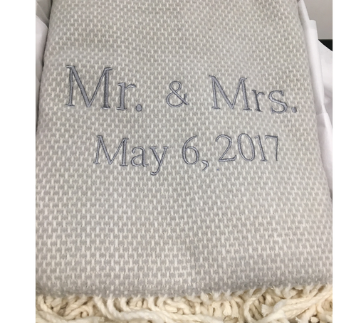 PERSONALIZED THROW BLANKETS