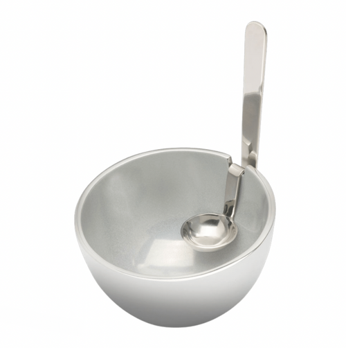 BENZ BOWL WITH SPOON | WHITE