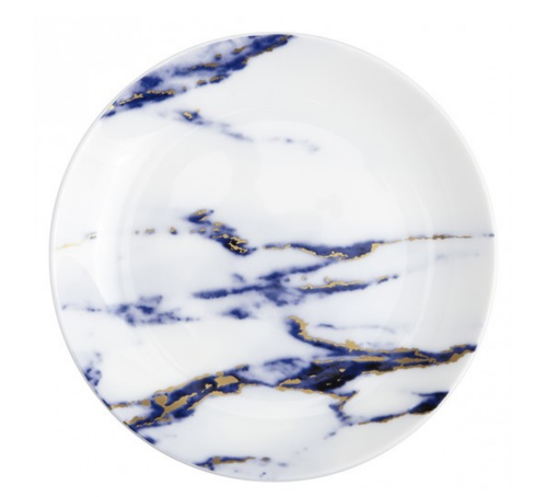 MARBLE 4 PIECE DINNERWARE SET | AZURE