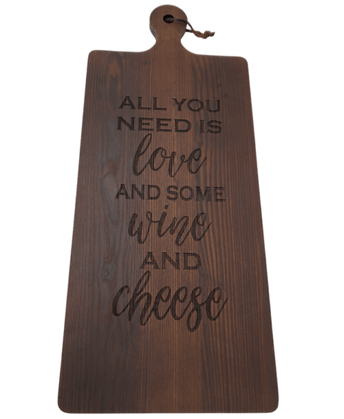 ALL YOU NEED IS LOVE, WINE CHEESEBOARD