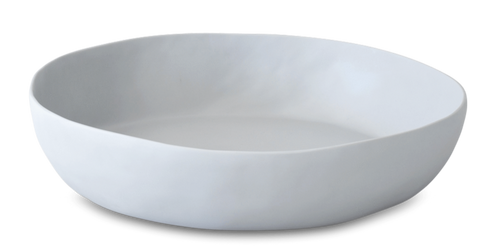 WIDE ROUND RESIN BOWL | CEMENT | XL