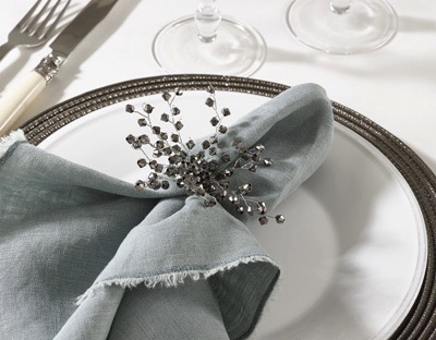 METALLIC GENUS NAPKIN RING