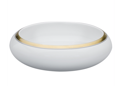 DOMO LARGE SALAD BOWL | GOLD | VISTA ALEGRE
