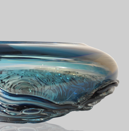 WAVE BOWL | AQUA BLUE