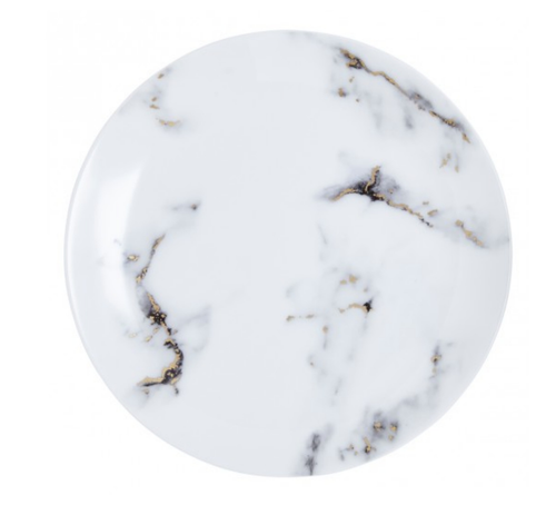 MARBLE 4 PIECE DINNERWARE SET | FOG