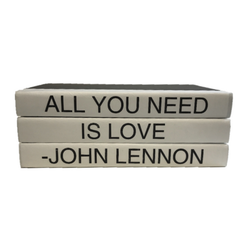 QUOTE BOOK SET | ALL YOU NEED IS LOVE
