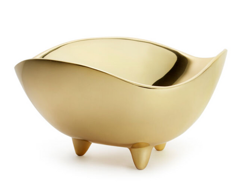 FOOTED DECO BOWL | LARGE | AERIN