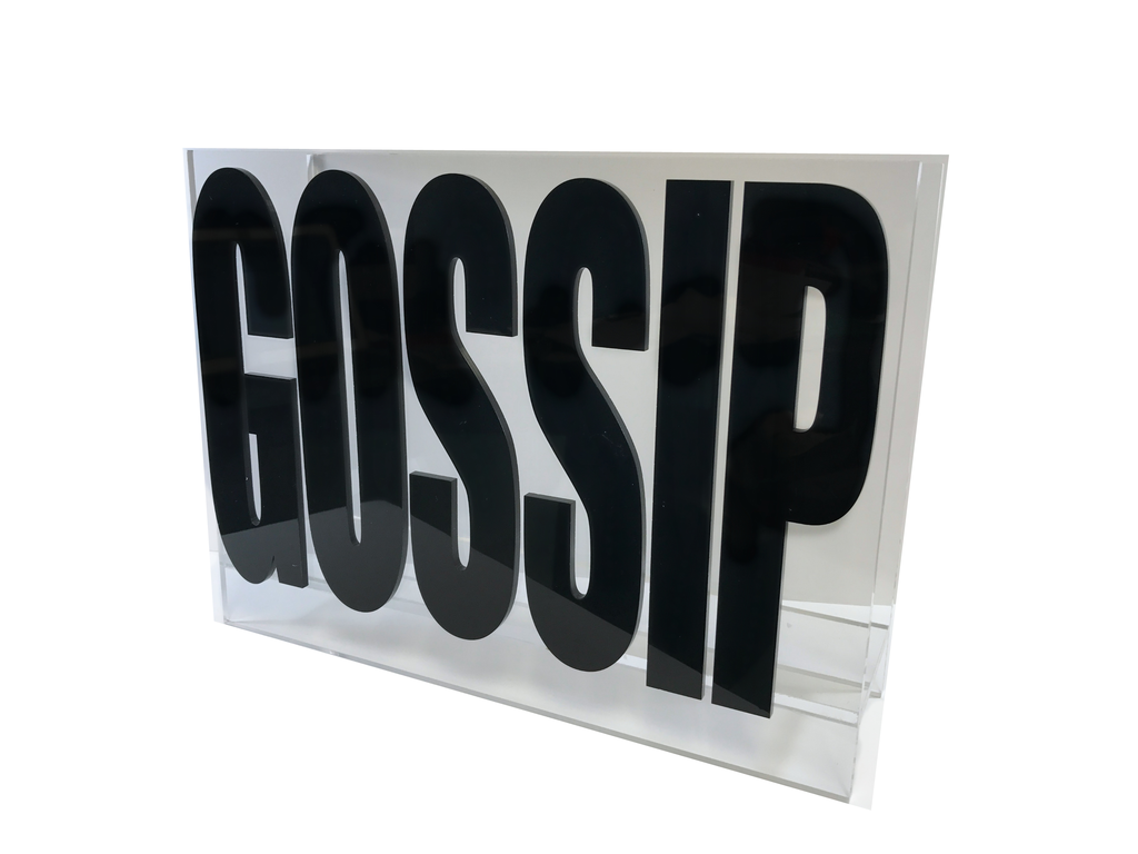 MAGAZINE  RACK | GOSSIP BLACK