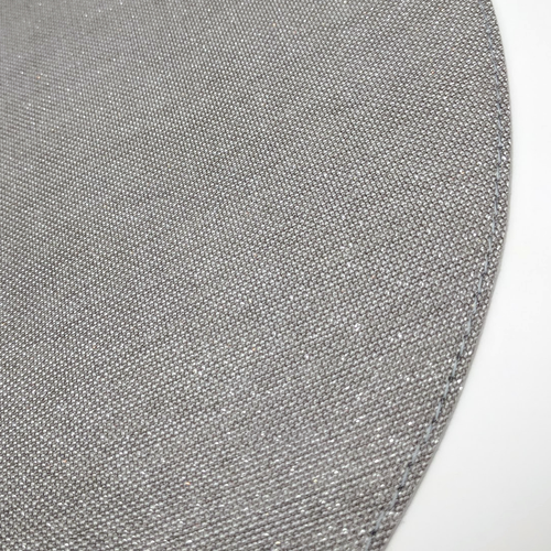 ROUND GEM PLACEMAT | SILVER