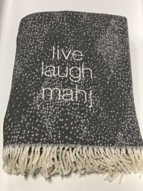 LIVE, LAUGH, MAHJ THROW | DOTTI GREY