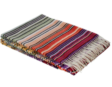 MISSONI TAZIO THROW  | PURPLE
