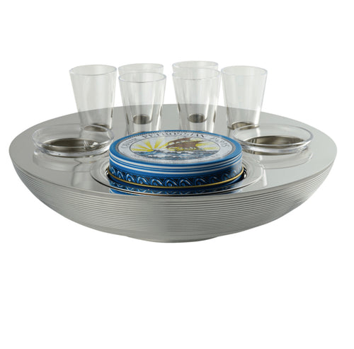 ERCUIS TRANSAT CAVIAR VODKA SET
