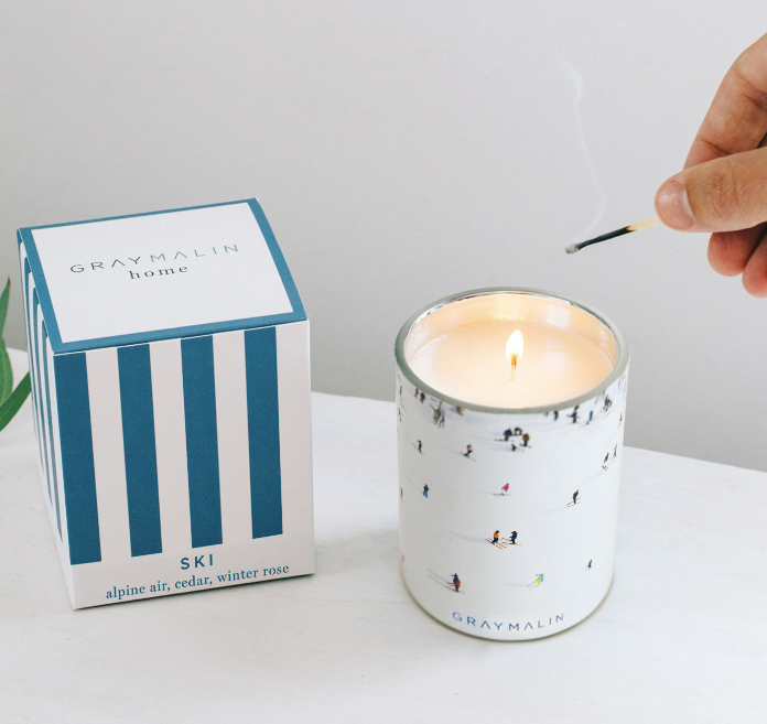 SKI CANDLE | GREY MALIN