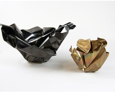PAPER BOWL | TARNISHED BRASS | LARGE