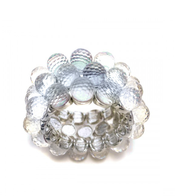CRYSTAL BALLS NAPKIN RING | VARIOUS COLORS