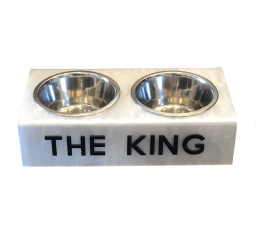 "DOG BOWL | ""THE KING"""