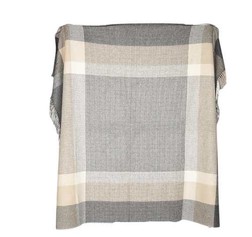 THE DOWNPATRICK CASHMERE THROW