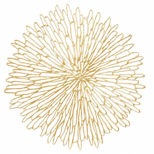 BLOOM PLACEMAT | GILDED