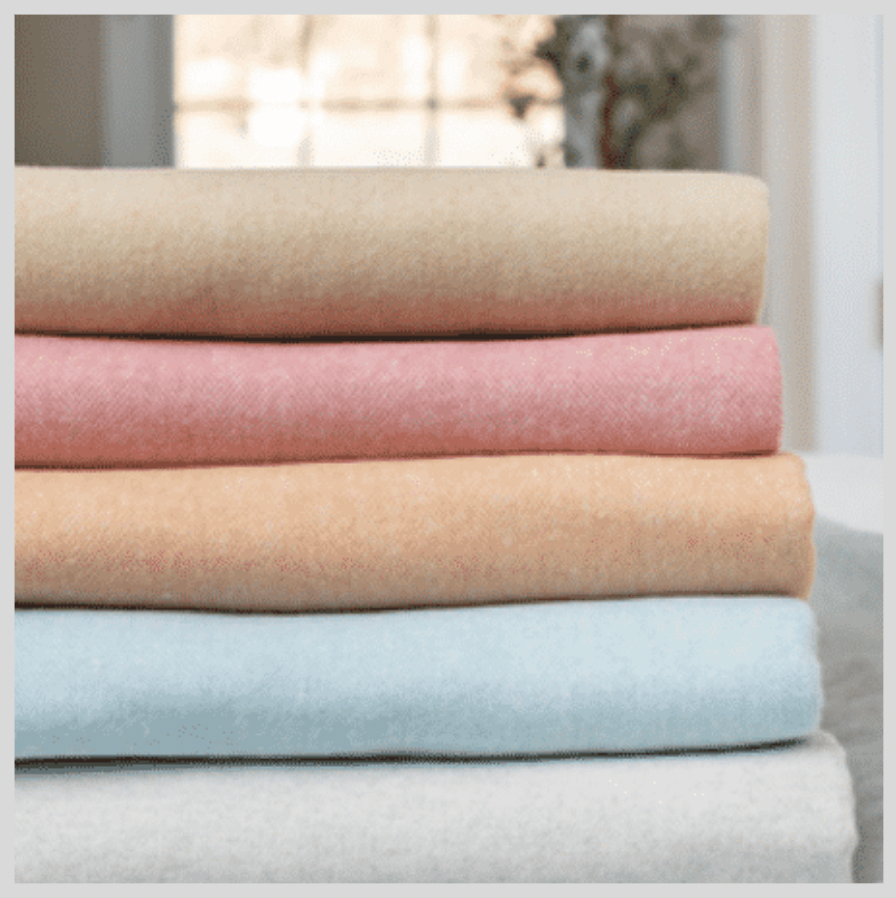 ITALIAN HERRINGBONE THROWS | VARIOUS COLORS