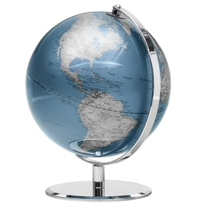 WORLD GLOBE | INDIGO BLUE