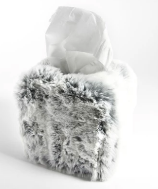 FUR TISSUE COVER | GLACIER GREY