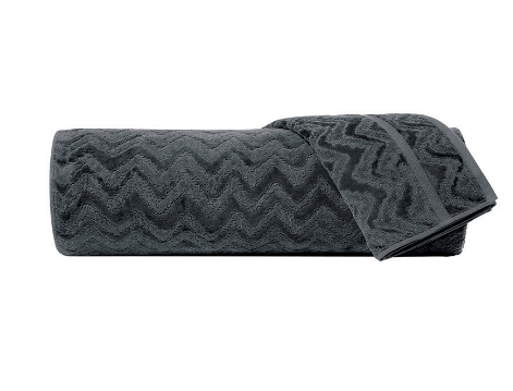 MISSONI HAND TOWEL | REX | CHARCOAL