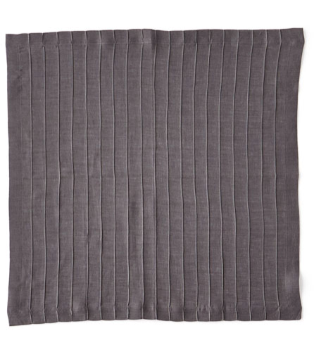 PLEATED NAPKIN | GREY