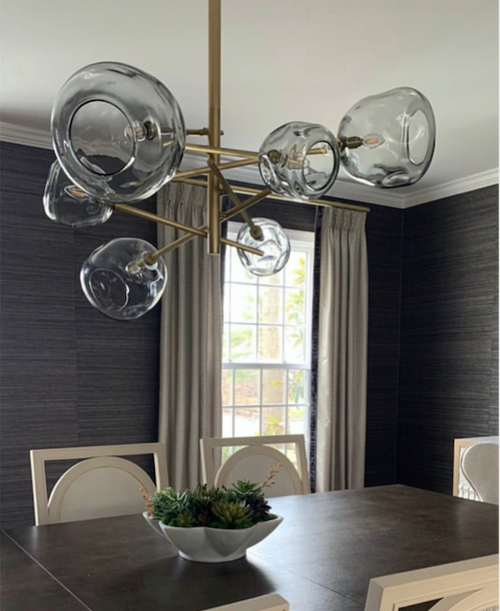 MOLTEN CHANDELIER | POLISHED NICKEL