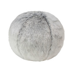 "SNOWBALL 12"" ACCENT PILLOW 
