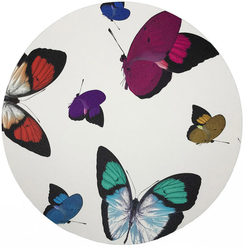 BUTTERFLY PLACEMAT | WHITE