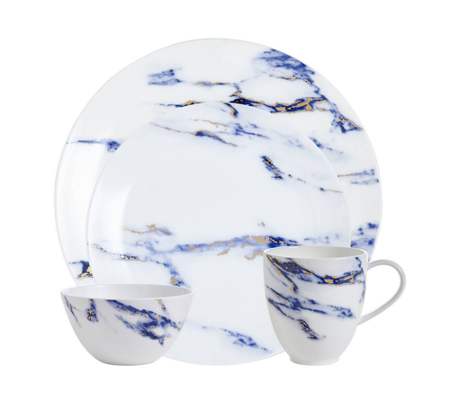 MARBLE DINNERWARE | 4 PIECE SET