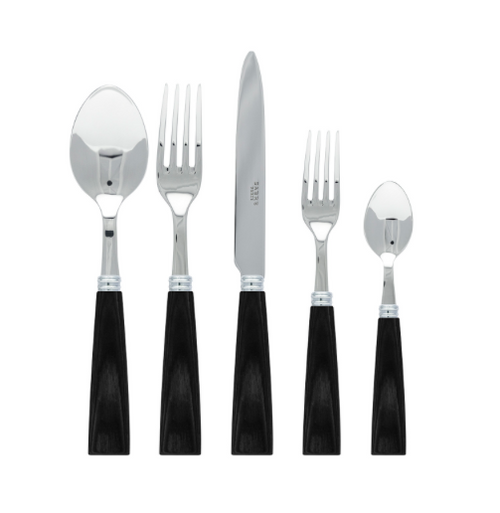 NATURA 5 PIECE SET | BLACK WOOD