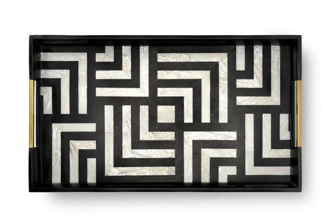 DÈDALE RECTANGULAR TRAY | LARGE | L'OBJET