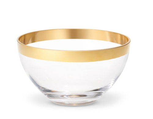 GABRIEL CRYSTAL BOWL | 2 SIZES | AERIN