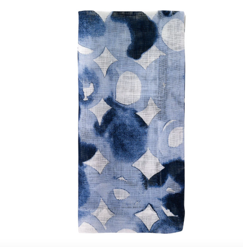WATERMARK NAPKIN | BLUE