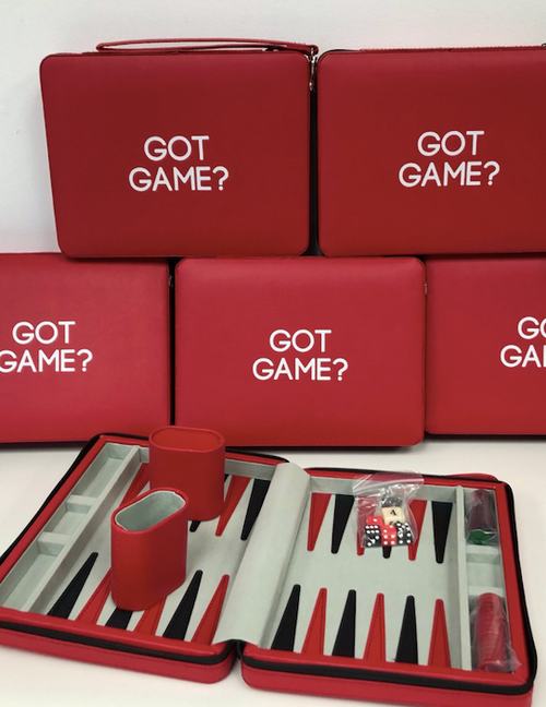 TRAVEL BACKGAMMON | GOT GAME | RED