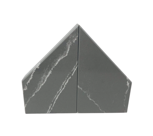 CHISEL MARBLE BOOKENDS | 2 COLORS