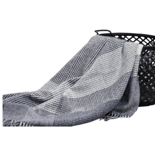 LOCH CONN THROW | CHARCOAL