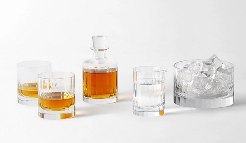 FLUTED DECANTER | RICHARD BRENDON | SMALL