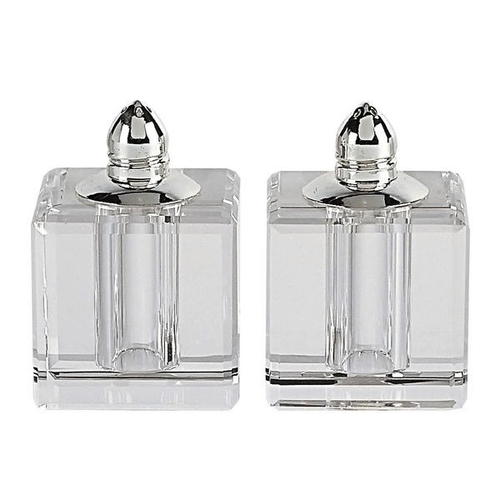 CRYSTAL SALT & PEPPER SET