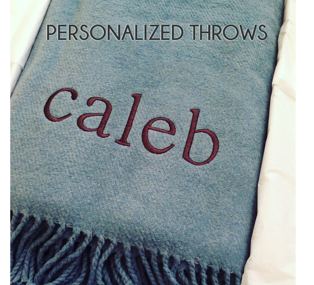 Personalized Throw Blankets Current Home Ny