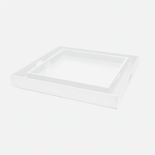VOLETA XL TRAY | WHITE | 28X28