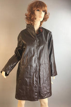 80s Reversable Fall Jacket// Vintage 80s Fall Rain Coat// Reversable Jacket (F1)