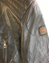 Mens Vintage Motorcycle Jacket // Vintage Leather Jacket// European Leather Motorcycle Jacket (42) (F1)