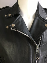 Vintage 80s Motorcycle Jacket//leather Motorcycle Jacket// 80s Biker Jacket (F1)